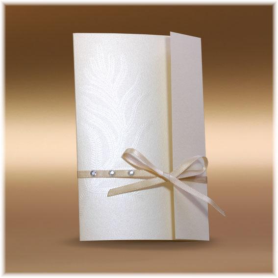 Svatební oznámení s perletí